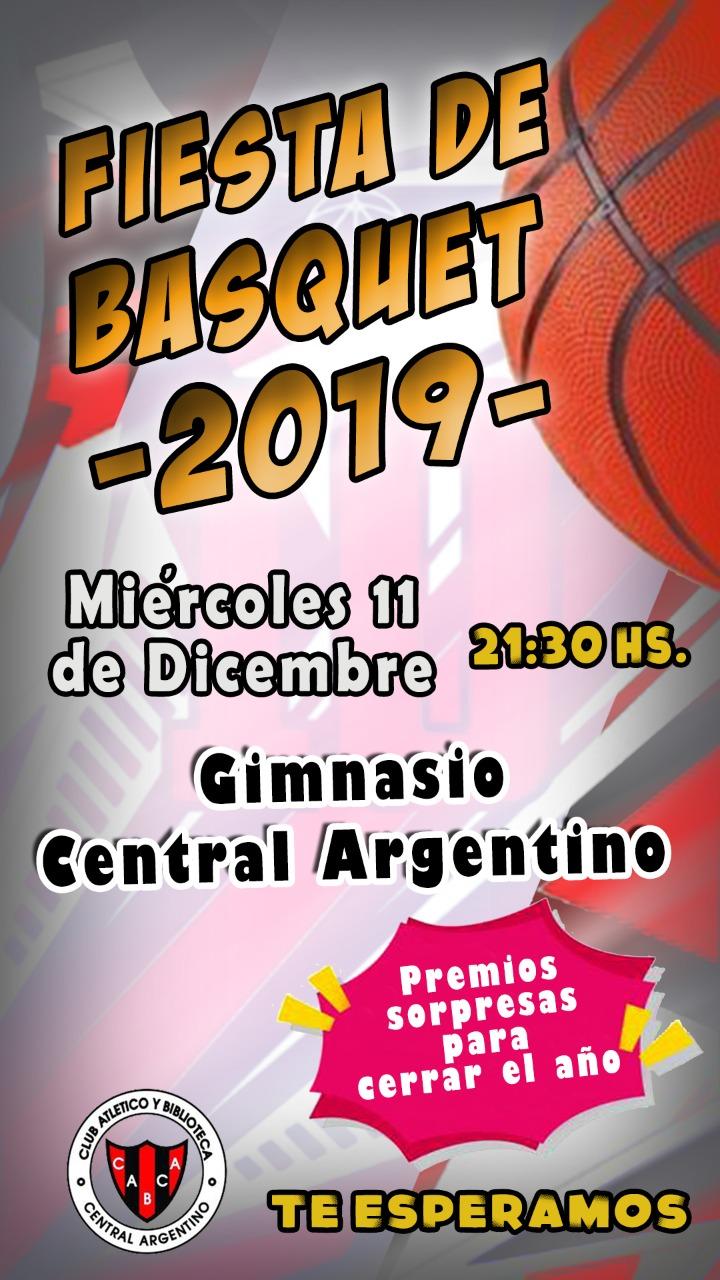 Fiesta de Básquet en Central Argentino