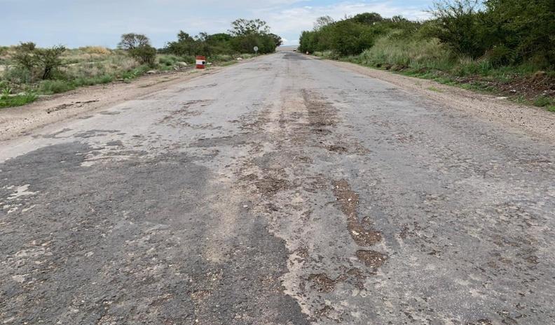 Advierten sobre el deterioro de la ruta N° 30 y el abandono de las obras