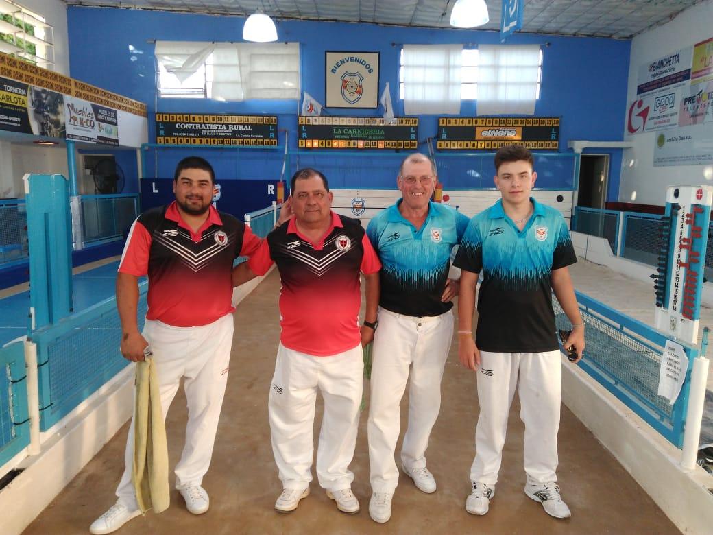 Bochas: Campeonato Clausura interclubes