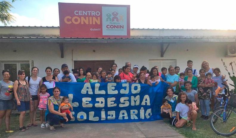 Un camionero de Alejo Ledesma unió a todo su pueblo en una movida solidaria
