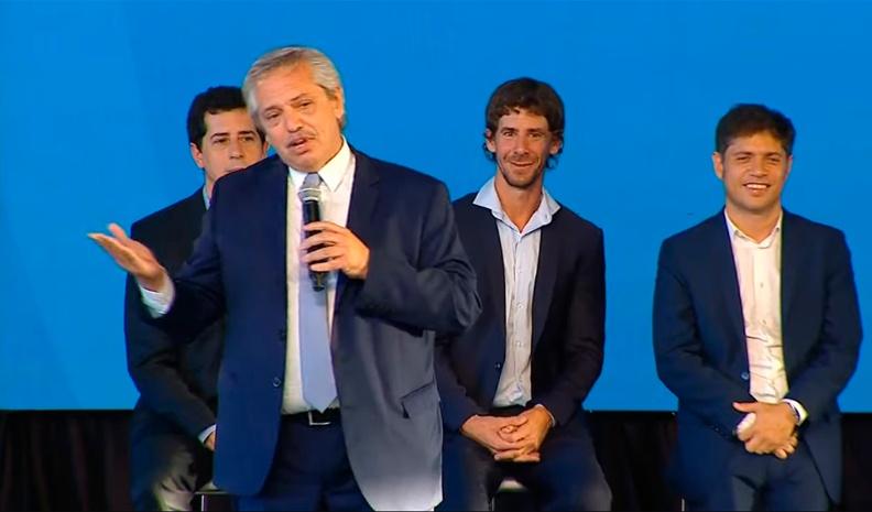 Alberto Fernández: «Estamos arreglando la Argentina para todos»
