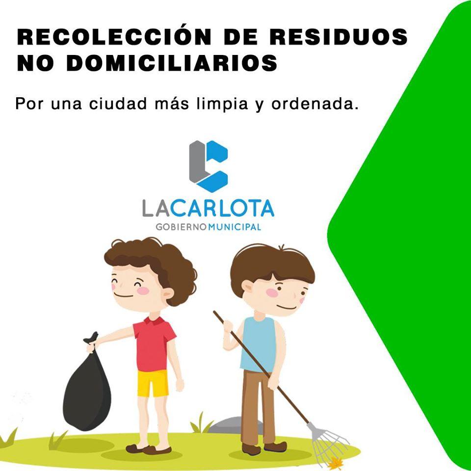LA CARLOTA: recomendaciones de la Secretaría de Obras y Servicios Públicos