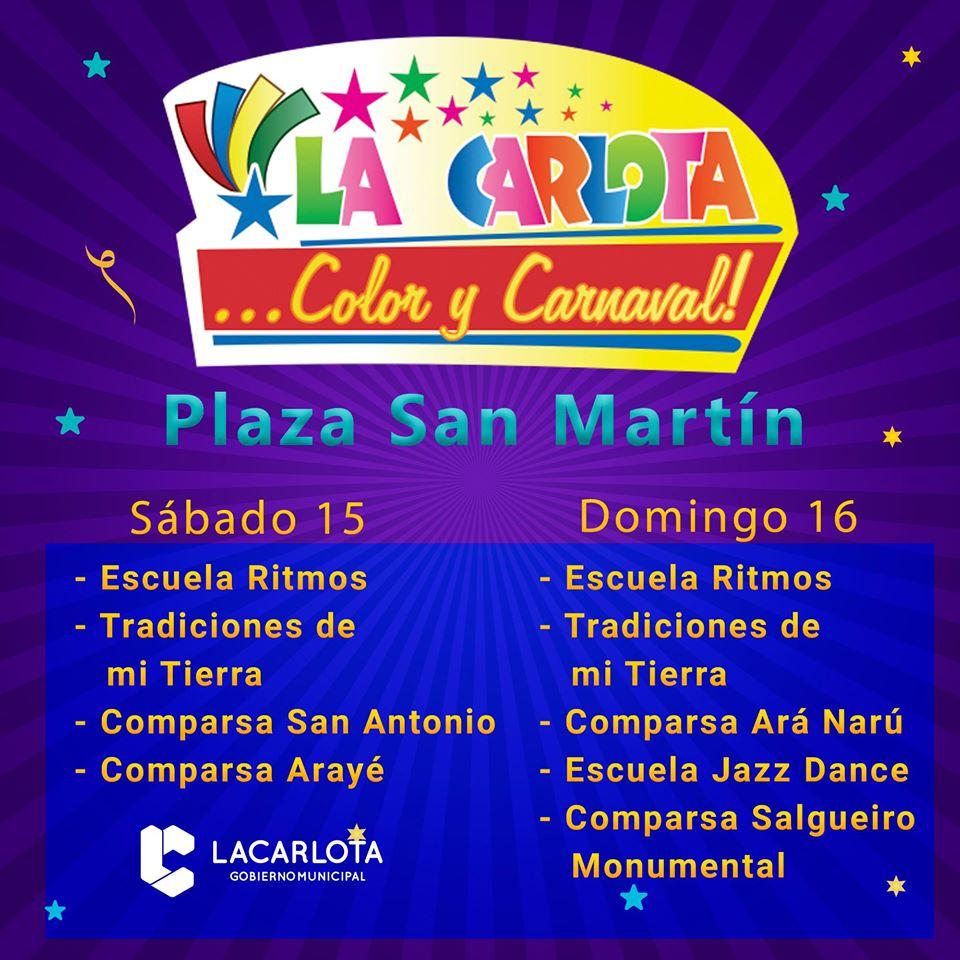 LA CARLOTA : Carnavales 2020