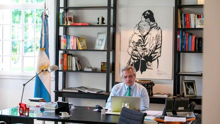 """Alberto Fernández: """"Con el estado de sitio no resolvemos el problema"""""""