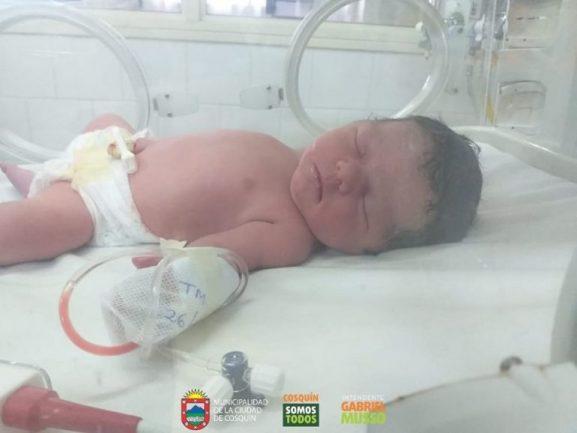 Nació una beba en el refugio municipal de Cosquín