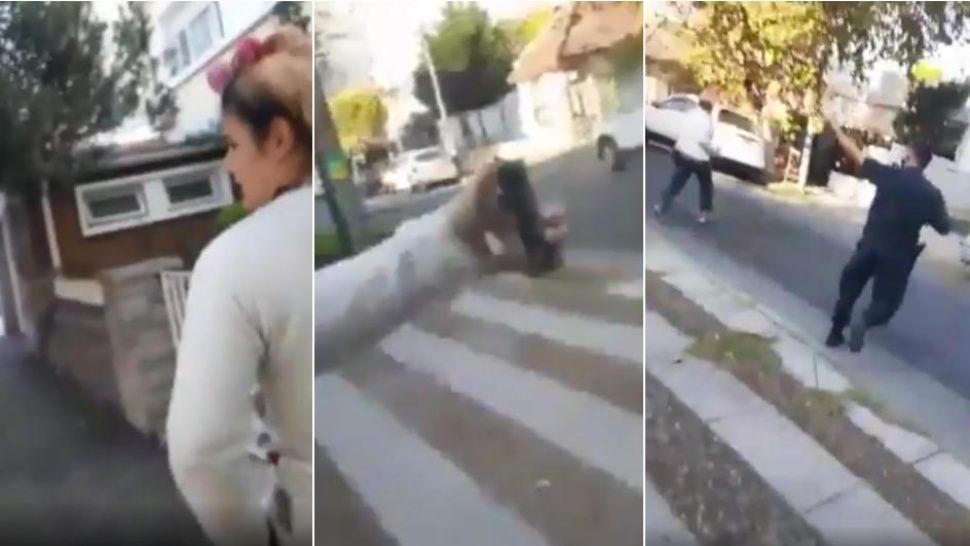 Una mujer que violó la cuarentena mordió y les arrojó gas pimienta a tres policías