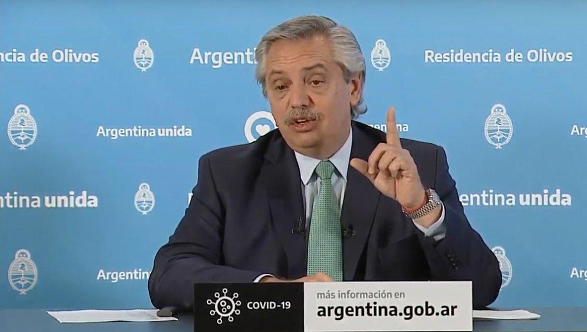 Fernández denunció «una campaña mediática» para acusar al Gobierno de preparar «una salida masiva» de presos