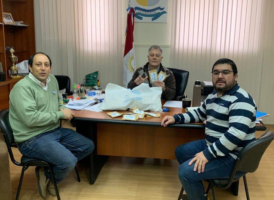 "LA CARLOTA: el municipio recibió semillas del programa ""la huerta en mi hogar"""
