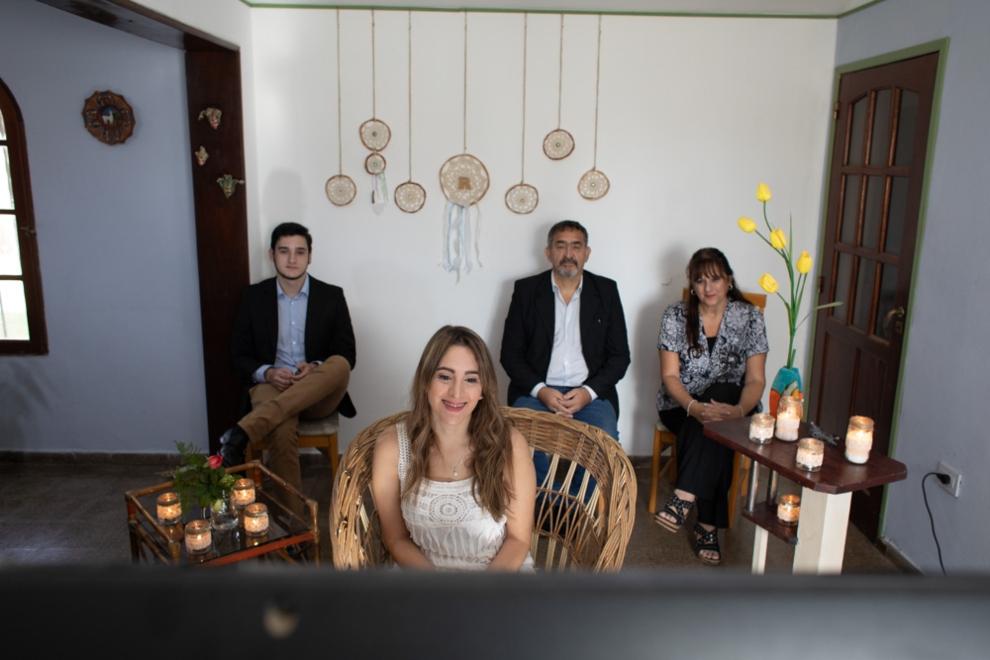 La Provincia celebró la primera boda por teleconferencia