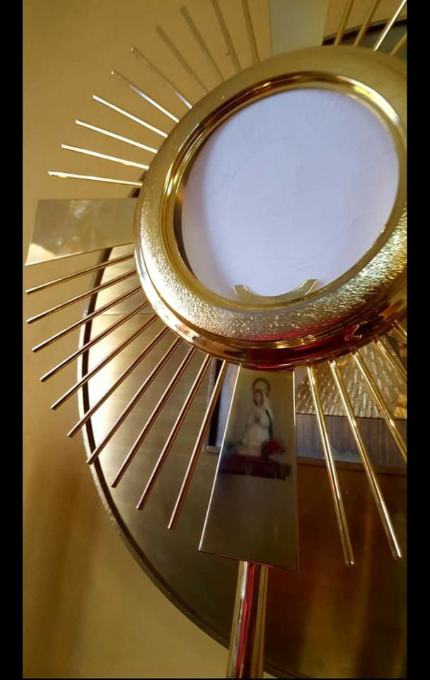Adoración perpetua: aviso parroquial
