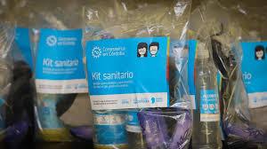 LA CARLOTA: el municipio entrega kits sanitarios a beneficiarios de la tarjeta social