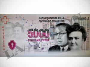 El nuevo billete de cinco mil pesos de la Argentina es rechazado por el Centro Simón Wiesenthal