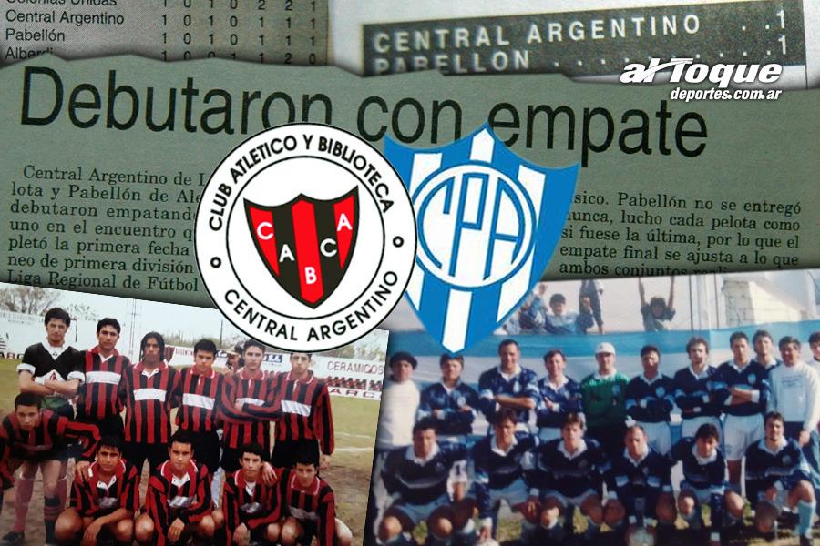 A 20 años del debut de Central y Pabellón en la Liga de Río Cuarto