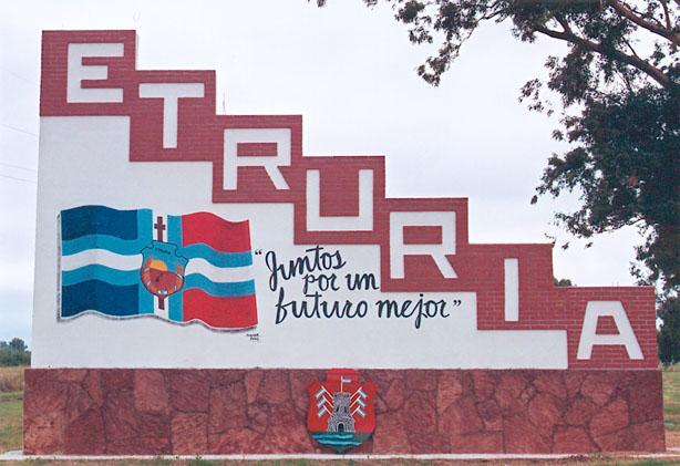 ETRURIA: sin grandes festejos y actos protocolares recuerda hoy los 127 años de su fundación