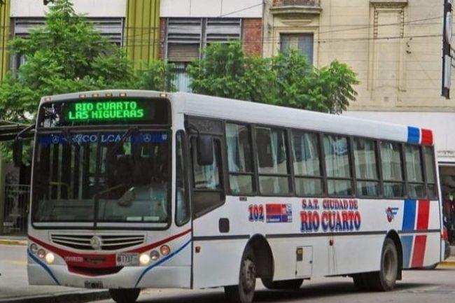 La empresa SAT reanuda el servicio de transporte entre las Higueras y Río Cuarto