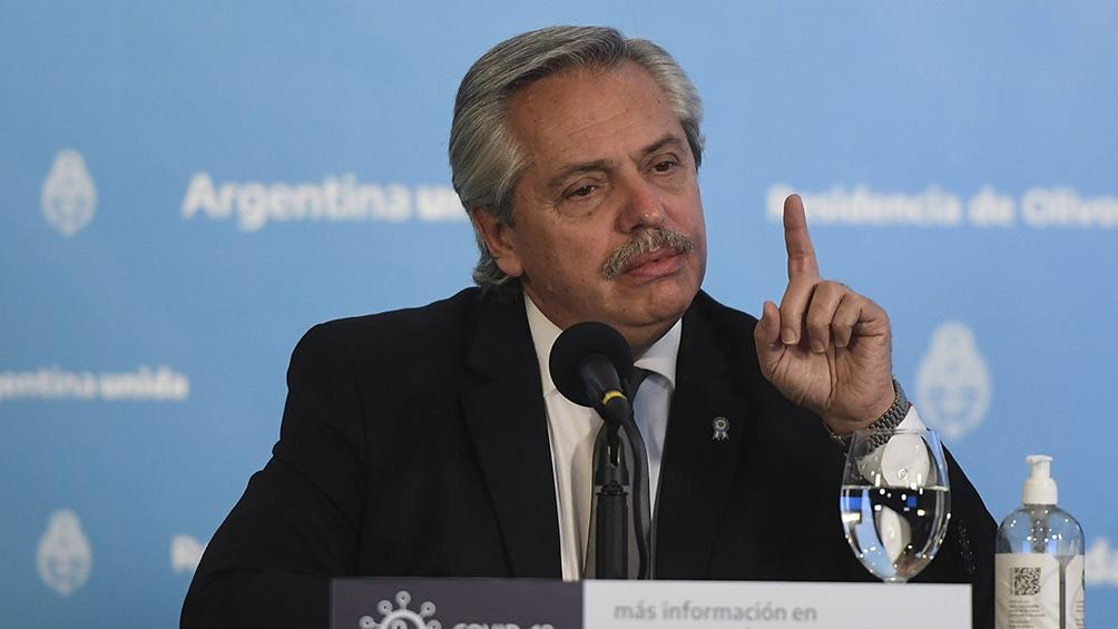 Fernández, a la oposición: «El camino del odio no conduce a ningún lado»