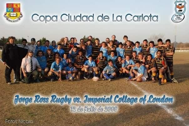 A 12 años de un evento histórico para el rugby carlotense