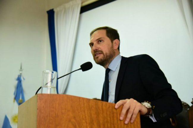 Imputaron al intendente de Villa María Martín Gill (en uso de licencia) por violar la cuarentena