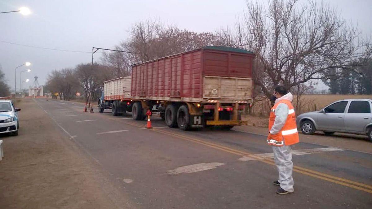 Alejandro Roca reportó un caso positivo en un camionero entrerriano