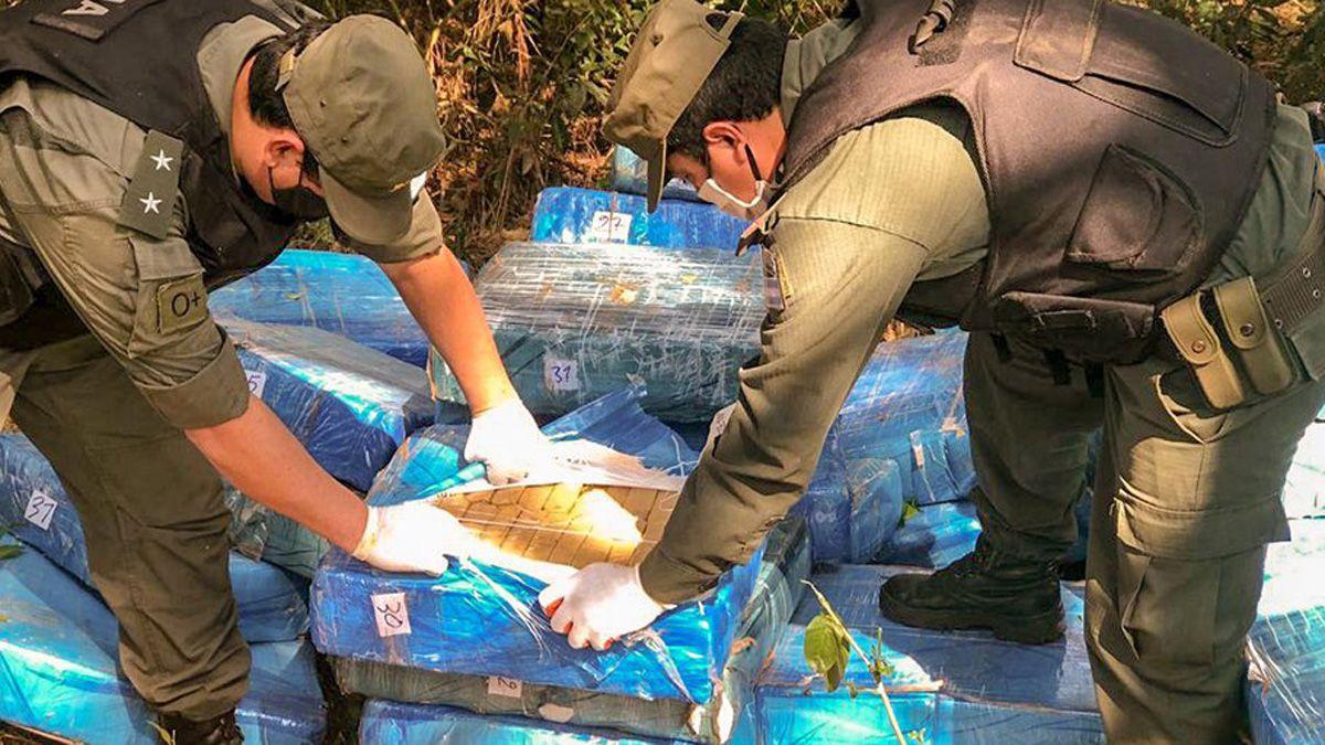 Secuestran más de 4.500 kilos de marihuana en Misiones