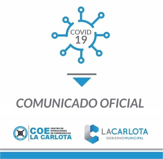 COE La Carlota: informa que tres casos resultaron positivos en los test rápidos