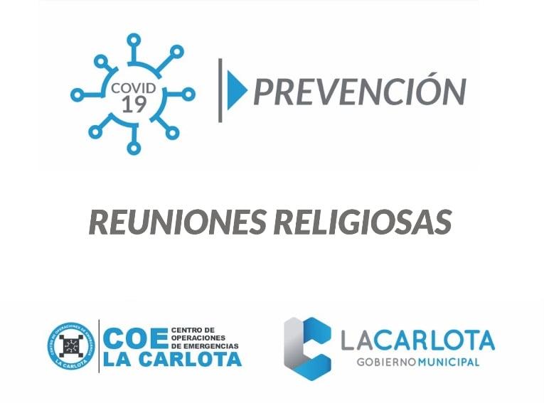 COE La Carlota : reuniones religiosas.