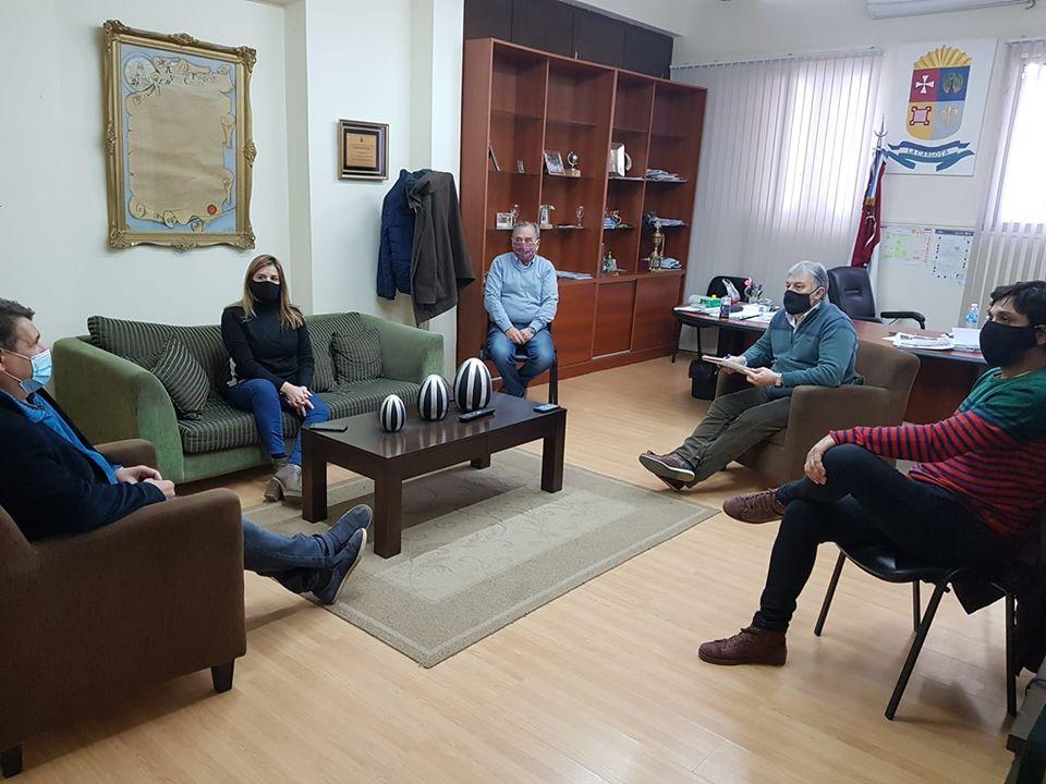 LA CARLOTA: Fabio Guaschino convocó a un equipo de salud local