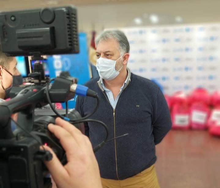 LA CARLOTA: el intendente Fabio Guaschino permanecerá en aislamiento preventivo durante los próximos días ya que es contacto estrecho de un caso positivo de Covid-19