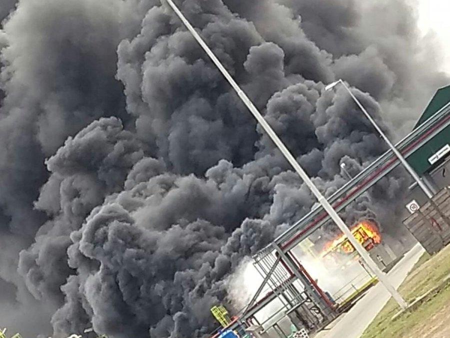Controlan un incendio en una planta de bioetanol en Villa María