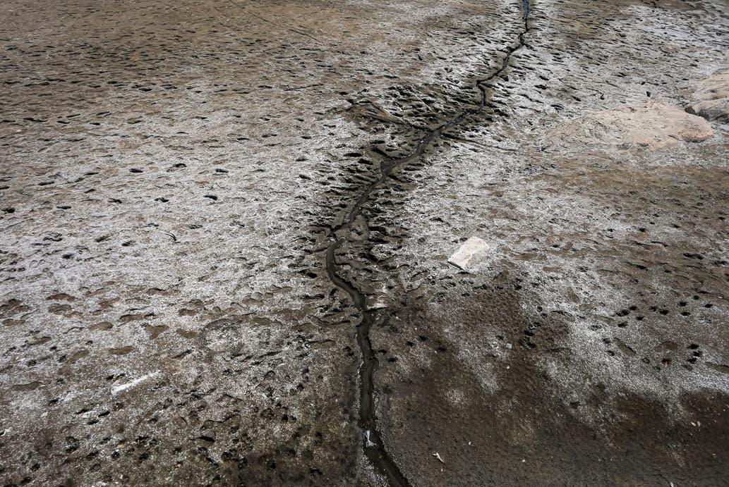 Impactantes imágenes de la peor sequía de los últimos 50 años en el lago San Roque
