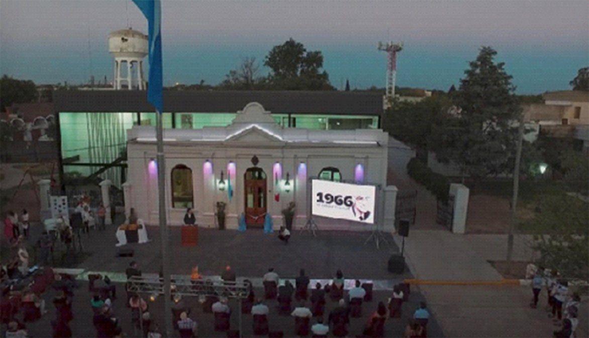 General Cabrera inauguró su remodelado edificio municipal