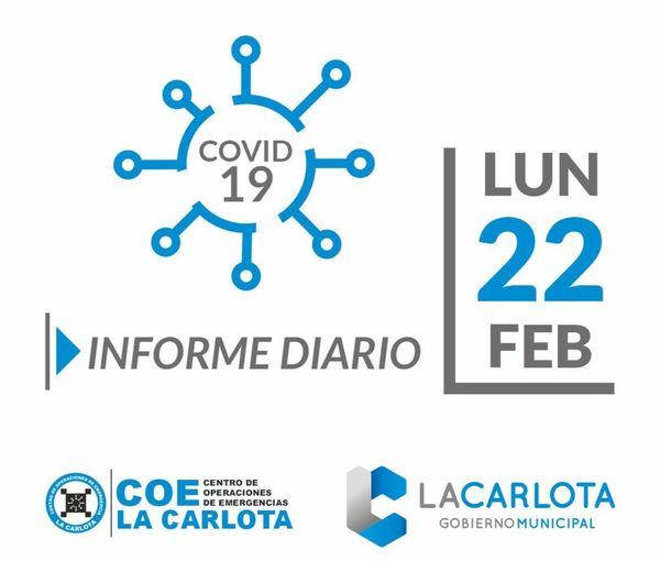 Situación epidemiológica en La Carlota y la provincia