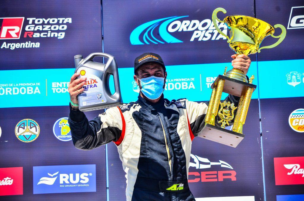 El carlotense Alejandro Arzú se alzó con la victoria en el TC Pista 4000