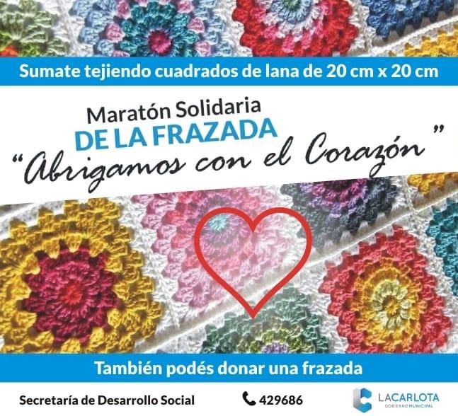 'Abrigamos con el Corazón': El gobierno municipal invita a ser parte de la Maratón Solidaria de la Frazada