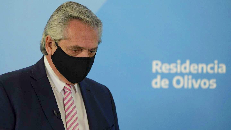 El presidente Alberto Fernández dio positivo al coronavirus
