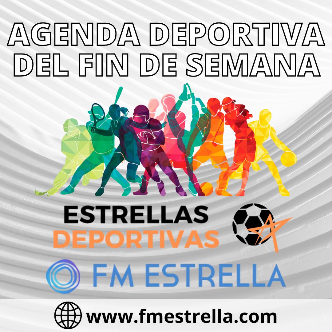La agenda deportiva local y regional de este fin de semana