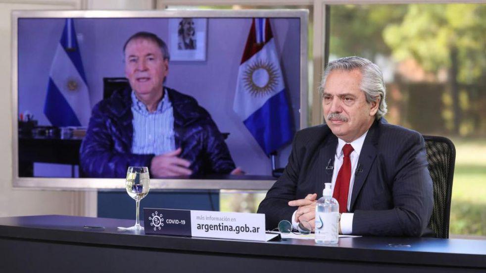 De cara a la toma de nuevas medidas, Juan Schiaretti conversará con el Presidente Alberto Fernández en una reunión virtual con gobernadores