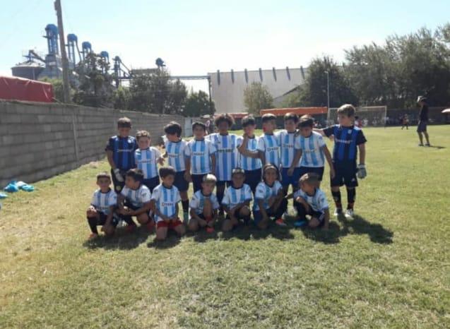Fútbol Infantil: Amistosos de Ross en Santa Eufemia