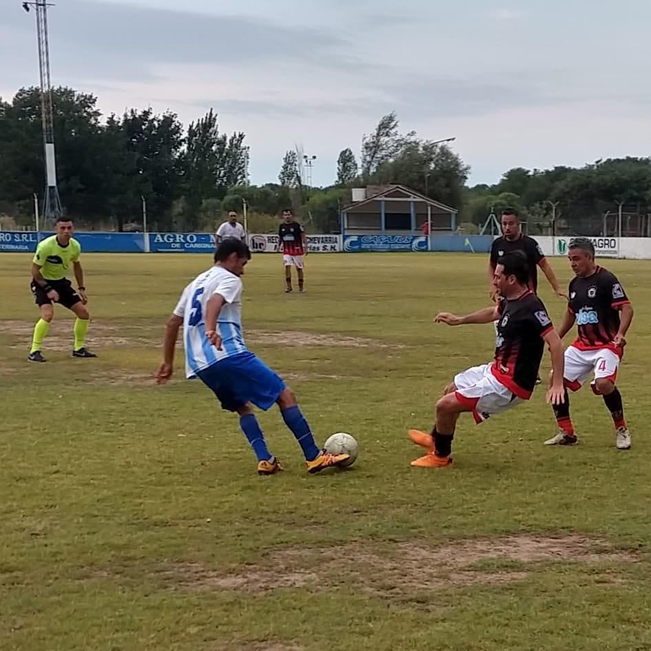 En La Carlota arrancó la Liga de Fútbol Senior