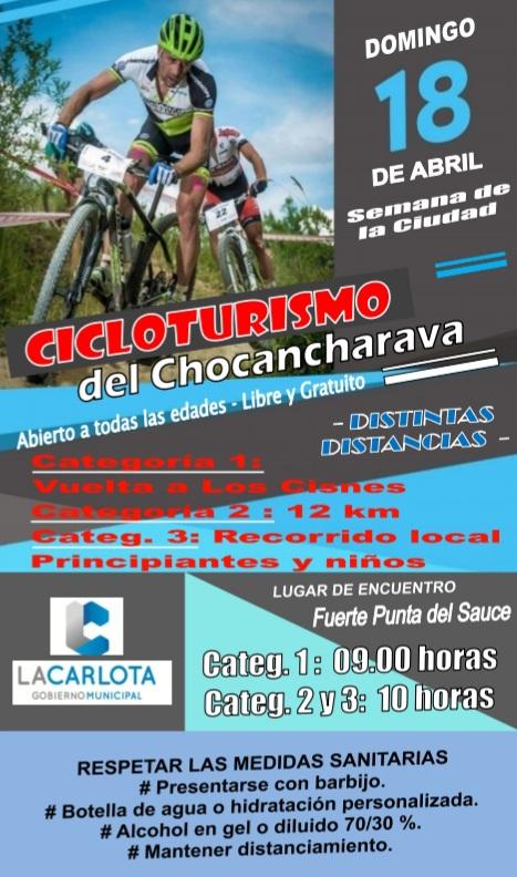 'Cicloturismo del Chocancharava' se desarrollará este domingo para los fanáticos de la bici