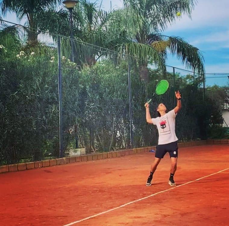 Andrea De Marco, alumno de 'El Montecito Tenis', fue campeón en Pascanas