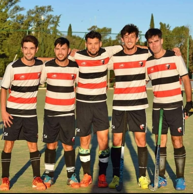Hockey: cinco carlotenses son campeones de la Liga Córdobesa con San Martín de Villa María