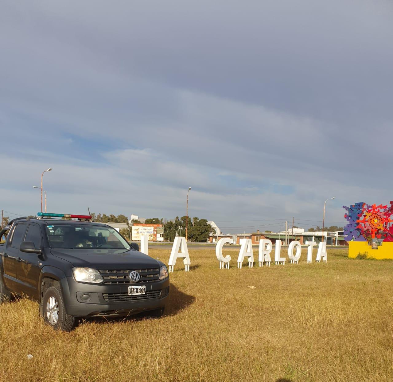 Policía antinarcotráfico realizó controles en La Carlota y otras localidades del sudeste provincial