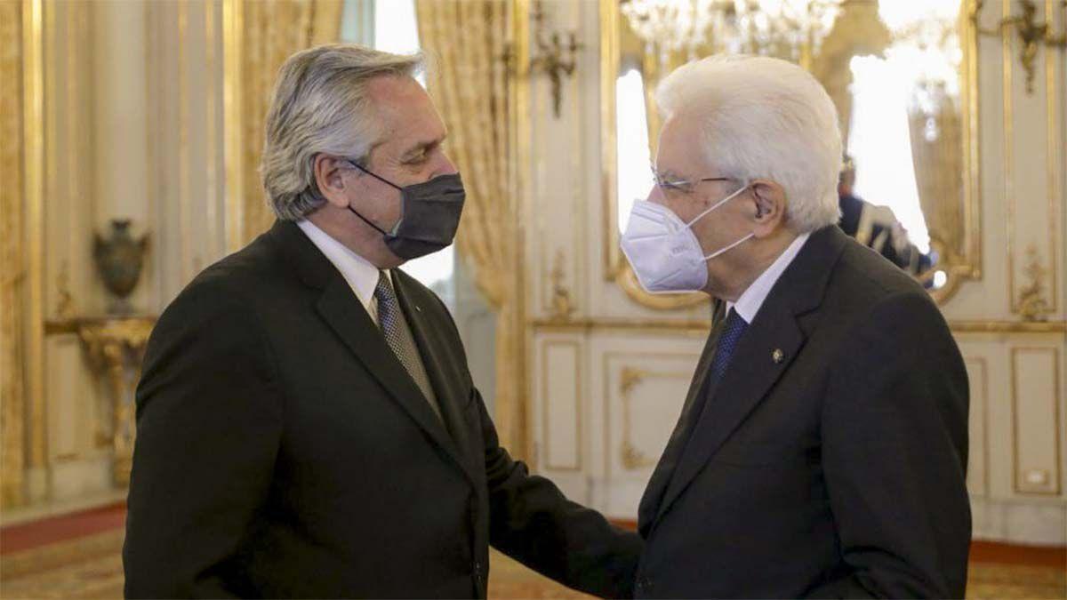 Alberto Fernández se reunió con su par italiano y mañana se encontrará con la titular del FMI