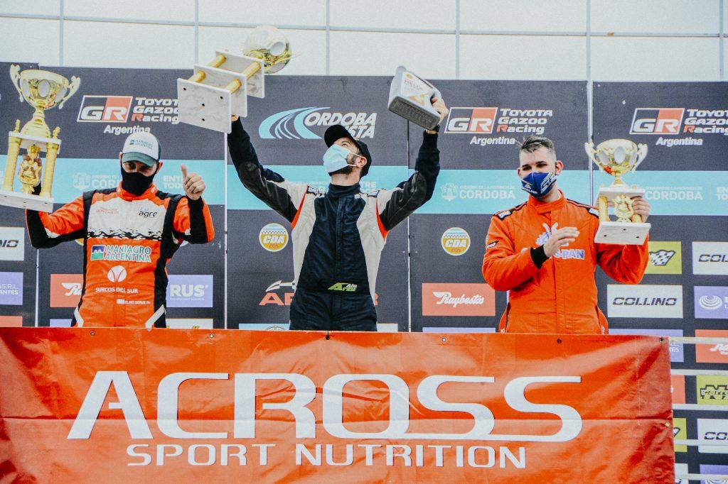 Alejandro Arzú obtuvo una nueva victoria en el TC Pista 4000