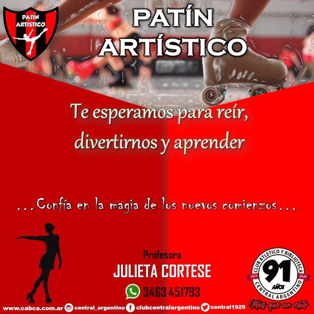 Central Argentino incorpora Patín Artístico a sus disciplinas