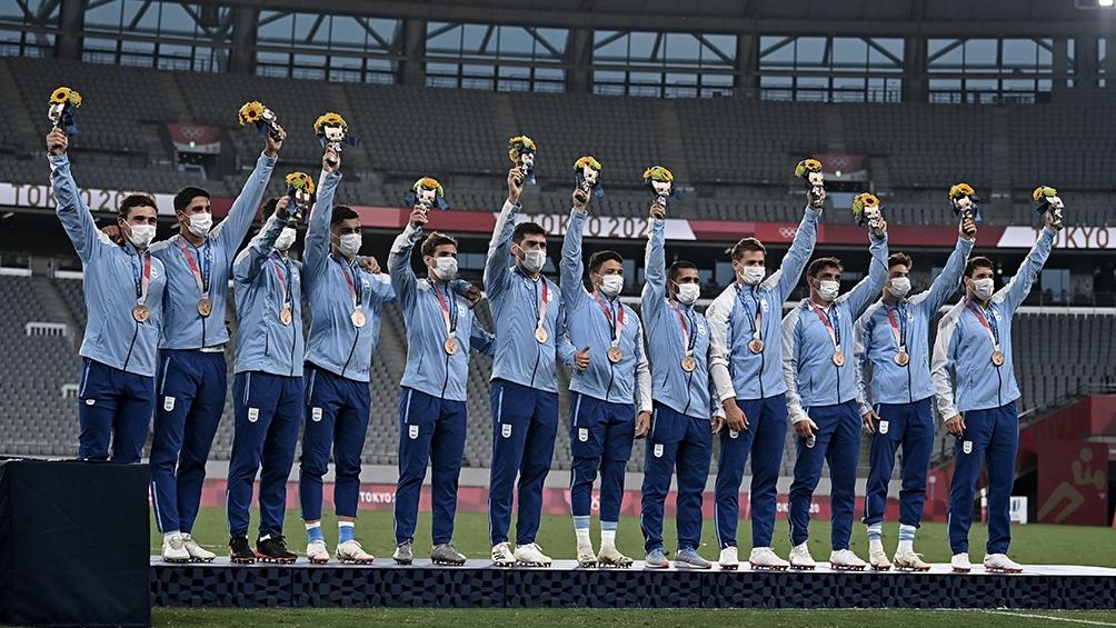 Argentina obtuvo su primer medalla en Tokio 2020: Los Pumas '7 obtuvieron el bronce