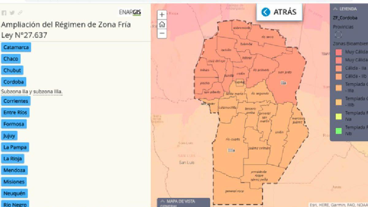 El Gobierno Nacional ya notifica que el gas natural costará menos en La Carlota y en varias localidades de Córdoba