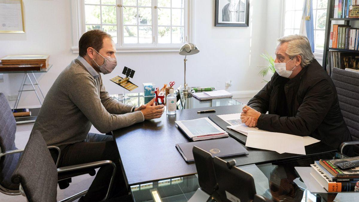 Alberto Fernández comunicó que Martín Gill encabezará la lista de diputados del FdT