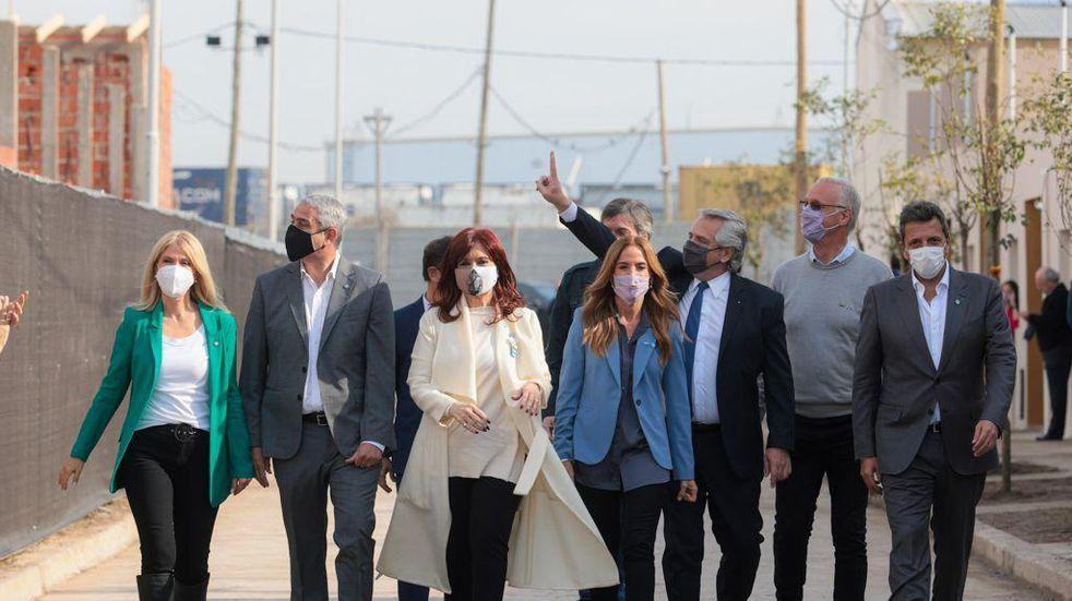 """Cristina Kirchner, sobre las fotos en Olivos: """"Alberto, poné orden en lo que haya que poner orden y no te enojes"""""""
